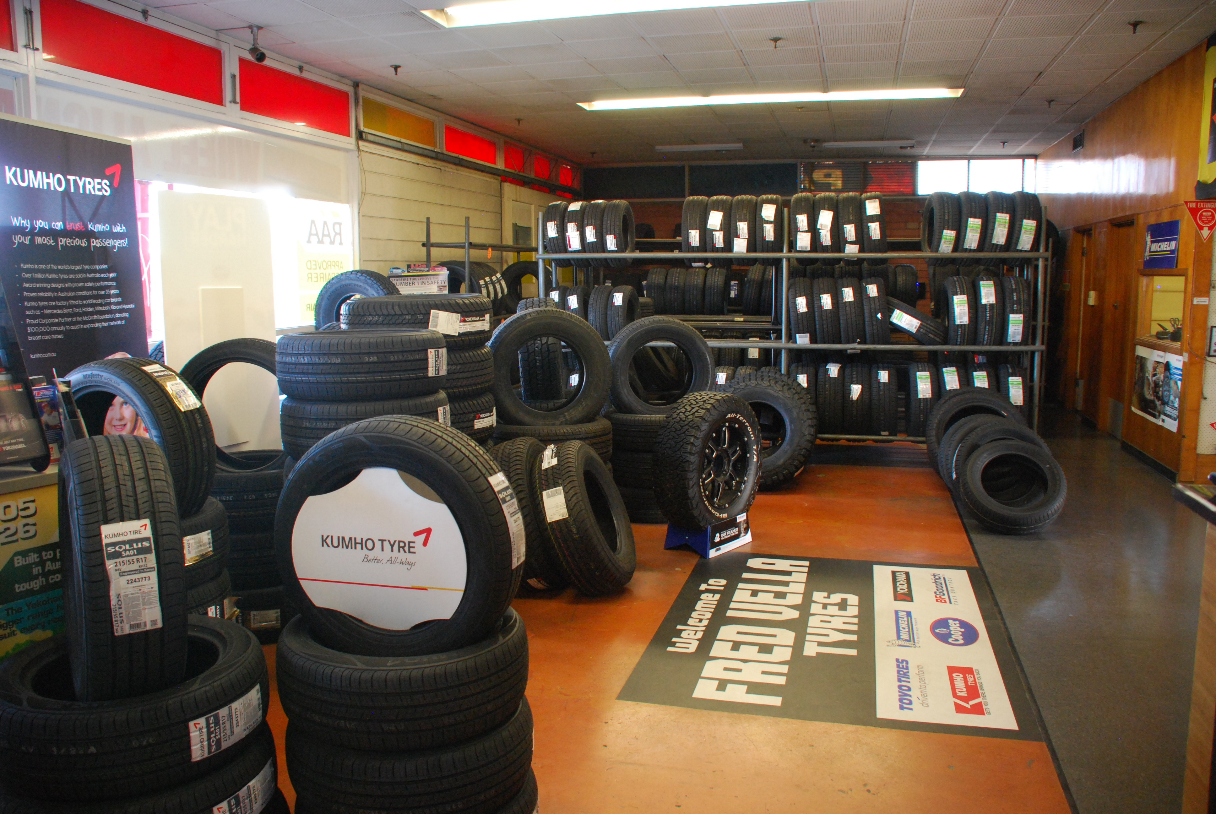 Fred Vella Tyres | Home